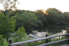 "Estabrook Falls at Sunset • <a style=""font-size:0.8em;"" href=""http://www.flickr.com/photos/79089555@N03/8119535631/"" target=""_blank"">View on Flickr</a>"