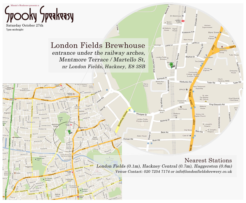 London Fields Brewhouse - Directions