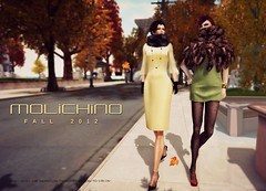 MOLiCHiNO FALL 2012 Ad - AVENUE November 2012 Issue (l  n d  . r  d d  v  l) Tags: avenue molichino aureliachauveau