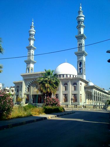 مسجد قباء في يوم صيفي .. | Quba'a Mosque