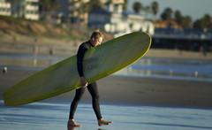 TOURMALINE 07 (Detective Steve) Tags: ocean beach water surf sandiego shoreline stranger dude pacificocean shore surfboard longboard wesuit tourmalinesurfpark