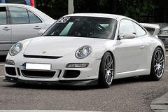 GT3 (Wannes P. Photography) Tags: white car leuven belgium 911 porsche supercar gt3 997 mki