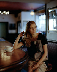 Anastasia (kenny ip) Tags: portrait london 120 film fashion mediumformat 645 kodak 1600 contax pushed anastasia 6x45 portra lookbook carlzeiss contax645 portra400 planart 80mmf2 kennyip