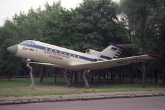 CCCP-87734 Yakovlev YAK-40 (pslg05896) Tags: ukraine yakovlev yak40 krivoyrog kryvyirih cccp87734