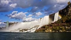 Niagara Falls (Eunice Eunjin Oh) Tags: ontario canada niagarafalls lakeontario bridalveilfalls rainbowbridge americanfalls sonyalphanex7