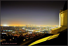 Lighted Los Angeles As Observed  From Observatory.....