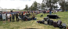 Duntroon Band set up.. (spelio) Tags: nov school music kids children singing australia canberra around schools act 2012 choirs singgigbatch