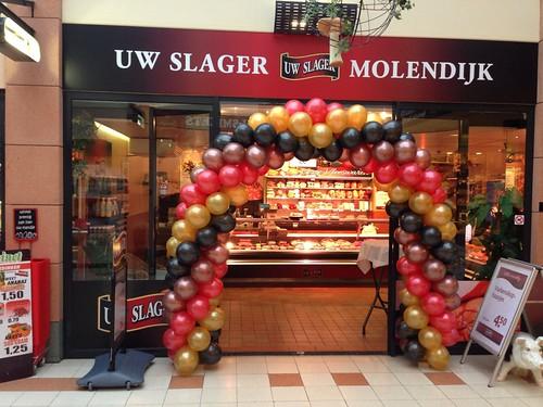 Ballonboog 6m Slagerij Molendijk Spijkenisse