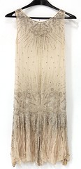 L3. Art Deco Flapper Dress, 1920s