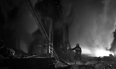哈尔滨 消防员 (SinoLaZZeR) Tags: china heilongjiang canon fire eos 中国 firefighter harbin haerbin 哈尔滨 黑龙江 消防队 着火 60d 消防员 1585mm