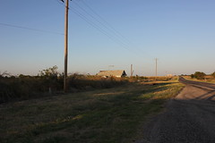 Country Life (TexasExplorer98) Tags: clara sunset rural texas country historic texashistoricalmarker burkburnett wichitacounty