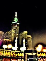 Ka'aba at Night (nalhouti) Tags: effects islam saudi jeddah makkah ksa مكه السعودية الكعبه iphone5 uploaded:by=flickrmobile flickriosapp:filter=nofilter
