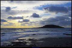Looe Island (Rooney Dog) Tags: morning sea beach cornwall pentax rough q looe kernow looecornwall rooneydog cornwallnearengland rooneydoghotmailcouk
