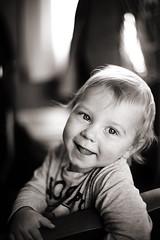Viggo I (Erica Gilbertson) Tags: boy baby cute smile sepia train laughing kid child laugh nikkor darling 5014 nikkor5014 nikond600