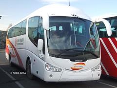 Bus Eireann SP104 (08D30336). (Fred Dean Jnr) Tags: dublin bus coach pb scania buseireann irizar february2008 k114 cietoursinternational sp104 08d30336 buseireannbroadstonedepot