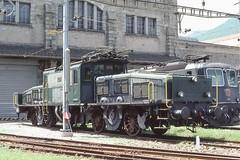 "1980-06-30, CFF, Officine di Bellinzona, Ce 6/8"" 14278 (Fototak) Tags: train switzerland ticino eisenbahn railway treno krokodil gotthard elok 14278 sbbcffffs ce68ii"