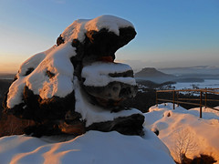 Winterabend (Sandsteiner) Tags: winter winterlandschaft