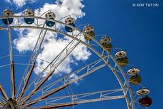 Zuri Fascht FunFair Zurich Switzerland July-16 (rtmotorphotos) Tags: world travel blue sky clouds canon switzerland skies ride zurich sigma fair 7d amusementpark bigwheel funfair pods 18250 zurifascht