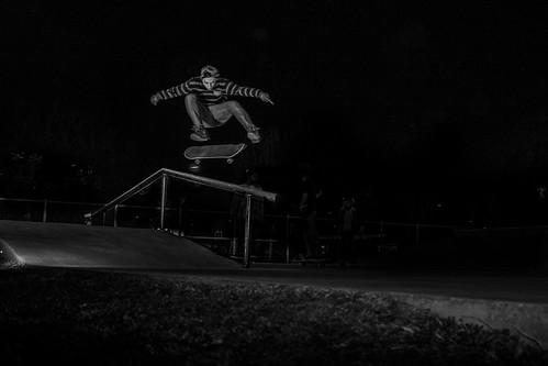 David Sanchez - Flip over the rail