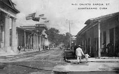 Guantanamo Calixto Garcia Street Cuba 1905 (lezumbalaberenjena) Tags: guantanamo cuba city ciudad lezumbalaberenjena
