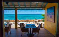 _JAM7432 (Jamil D750) Tags: jamaica smoked marlin sunny ocean beach oceanview view restaurant tropical blue sky waves nikon nikond750 green yellow orange stone
