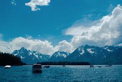 grand tetons (David Abramov.) Tags: grand tetons national park mountain mountains lake boat boats landscape natural nature