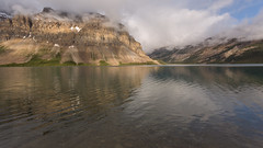 Low Clouds & Rippled Reflections (Ken Krach Photography) Tags: albertacanada