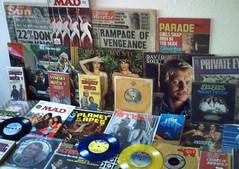 1970's : (Retro King) Tags: 1976 records retro vinyl 1977 british albums pop singles tv magazines comicbooks paperbacks newspapers television movies cinema collectables 1978
