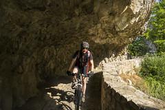 Matka Canyon Bike RIde (rante_to4ak) Tags: bicycle bicyclemk bike matka canyon macedonia makedonija skopje ride rock path cycling treska tour to4ak morning summer sun sunny helmet polar mirage pro