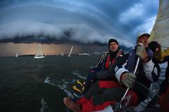 Helsinki-Tallinna Race (Antti Tassberg) Tags: 15mm 2016 action cloud eps fisheye helsinki htr pilvi prime purjehdus purjevene race rain regatta sade sailing sailingboat sport s tallinna teknopump weather yacht