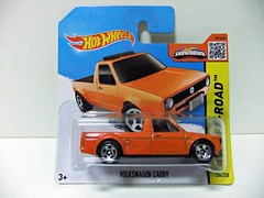 VOLKSWAGEN CADDY - HOT WHEELS (RMJ68) Tags: volkswagen vw caddy hw hot wheels mattel diecast coches cars juguete toy 164