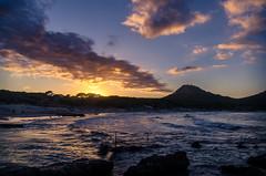 Sunset (Deltoya2005) Tags: mallorca cala espaa sunset nubes clouds