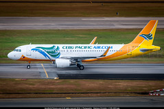 SIN.2015 # 5J A320 RP-C3279 awp (CHR / AeroWorldpictures Team) Tags: cebu pacific air airbus a320214wl cn 6051 rpc3279 engines 2x cfmi cfm565b43 history aircraft 26mar2014 first flight tls reg fwwdh 14apr2014 delivered cebupacificair 5j ceb config cabin y179 15apr2014 ferried tlsfjrhanmnl 1516apr2014 delivery a320 winglet twy taxiways singapore changi sin airport wsss nikon d300s zoomlenses nikkor 70300vr