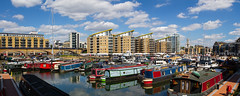 The Cut to the Thames August 2016 (8 of 42) (johnlinford) Tags: canal canon canonefs1022 canoneos7d docklands limehouse london marina uk urban landscape