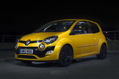 Liquid Yellow Facelift Twingo 133 (mattHoneywill) Tags: renault renaultsport liquid yellow twingo 133 hatchback track car caged