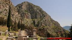 Archaeological site of Delphi (soyouz) Tags: delfi delphi grc grce delphes ruines grec patrimoineunesco phocis montagne grcela