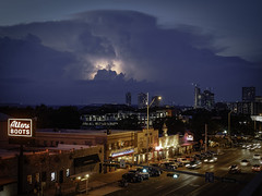 Sunset Storms (keith_shuley) Tags: lightening storms austintexas austin clouds sunset texas