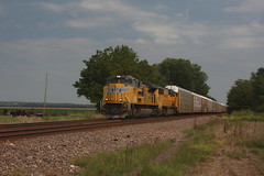 54343 (richiekennedy56) Tags: unionpacific sd70ace sd70m up8387 up4671 kansas newman perry jeffersoncountyks railphotos unitedstates usa