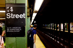 Signs of the NYC Subway 3 (andyfpp) Tags: fujifilm fuji x100t newyork newyorkcity subway 2016 signs symbols helvetica