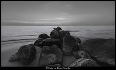 Ras al-Khaimah beach -2 (PvRFotografie) Tags: unitedarabemirates uae rasalkhaimah beach strand water sea zee persiangulf monochrome blackandwhite blackwhite zwartwit sonyslta99 1224mm sigma1224mm sigma12244556 wideangle groothoek digitalart photoshop modification
