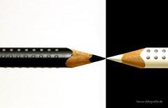 Black & white (Pinky0173 (thrun-fotografie.de)) Tags: blackwhite schwarzundweis bleistift pencil thrunfotografiede pinky0173 canon makro macro