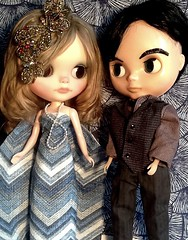 Toy-in-the-Frame-Thursday; and Blythe-a-Day August#19: Close Encounters: Cassie Wants to Encounter a Handsome Young Man