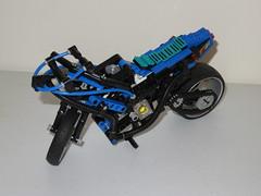 LEGO 8417 - 2016 Upgrade (RS 1990) Tags: lego technic 1998 motorbike magwheelmaster 8417 mod upgrade 2016