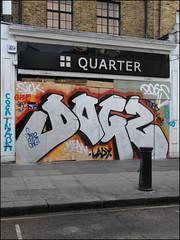Dogz (Alex Ellison) Tags: nottinghillcarnival2016 westlondon urban graffiti graff boobs dogz nhs cbm