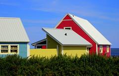 Colores (plumo60) Tags: canada qubec gaspsie couleurs maisons
