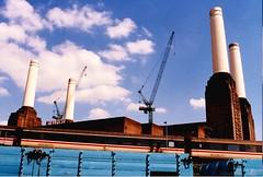 """Animals."" - Battersea Power Station - (Gilles,Gilles,Lemonpeel) Tags: monument batterseapowerstation battersea london uk pinkfloyd canon canonae1"