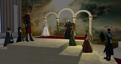 Avilion Heart - ACT presents : The Legend of Arthur and Avalon (Osiris LeShelle) Tags: secondlife second life avilion heart medieval fantasy roleplay theater cameo act avilioncameotheater legend arthur avalon performance stage actors