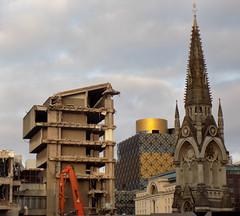 Golden Dawn (Jason_Hood) Tags: inexplore birminghamcentrallibrary johnmadin brutalism brutalist demolition