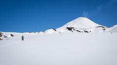 Volcn Villarrica (Patricio Jimnez Barros) Tags: pichillancahue randonee ski chile araucania skitouring volcanvillarrica