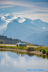 Alpine and Mont-Blanc (seb.montagny) Tags: 2016 rallyedumontblanc rallyes race rallye racing rally motorsport mountains motors montblanc canon cars eos5dmarkiii lake oldcar landscape
